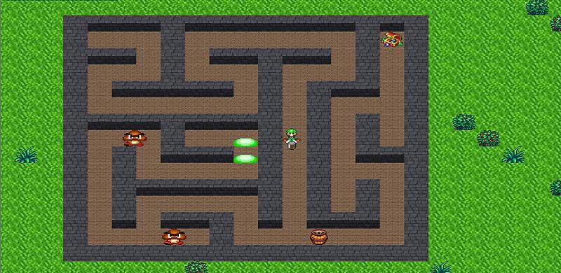 Labyrinthe projet luigi java